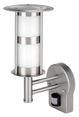 Wandlampe Edelstahl für Aussen Höhe 300 mm Incl. P.I.R. von IVT Innovative Versorgungstechnik auf Lampenhans.de