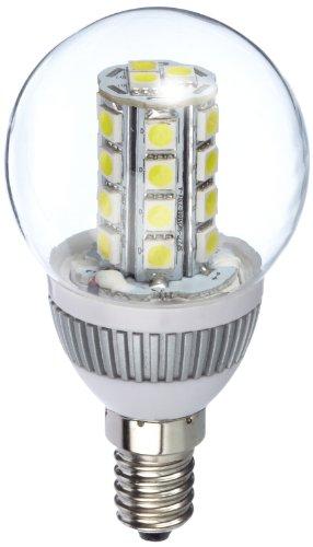 Goobay 30376 LED Mini Globelampe E14 Daylight weiß mit Cluster
