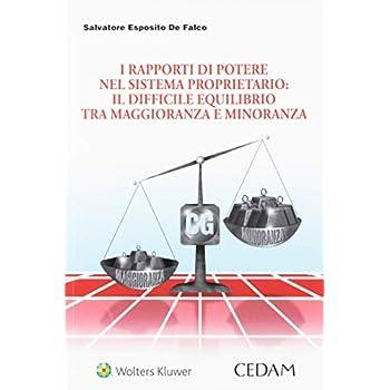 I Rapporti Di Potere Nel Sistema Proprietario. Il Difficile Equilibrio Tra Maggioranza E Minoranza