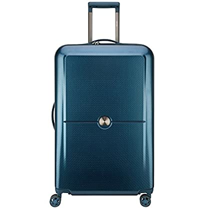 DELSEY PARIS TURENNE Maleta, 75 cm, 102 liters, Azul (Bleu Nuit)