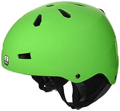 Bern Men's Team Macon All Season Helmet-Gloss Black, X-Large/59-60.5 cm from Bern