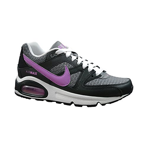 NIKE Air Max Command (Gs) 407 Jungen Sportschuhe cool grey-fuchsia glow-antharacite-white