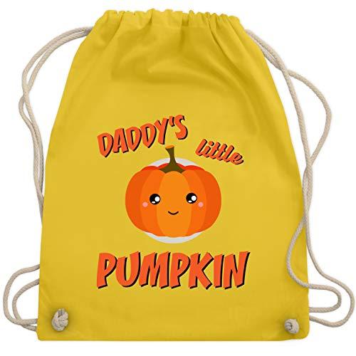 Anlässe Kinder - Daddys little Pumpkin Halloween - Unisize - Gelb - WM110 - Turnbeutel & Gym Bag