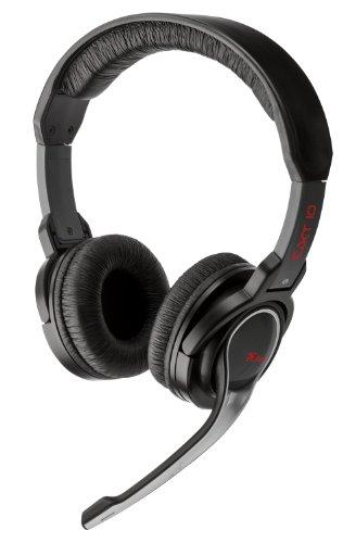 Trust GXT10 Full Size Gaming Headset [UK Import] (12 Subwoofer Pro Box)