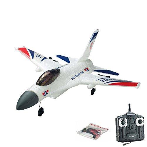 2.4GHz RC ferngesteuertes Air Force F16 Flugzeug Kampf-Jet, 3D Flieger-Modell, Ready-to-Fly - Komplett-Set