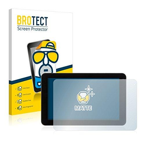 2X BROTECT Matt Bildschirmschutz Schutzfolie für Xoro TelePAD 9A1 Pro (matt - entspiegelt, Kratzfest, schmutzabweisend)