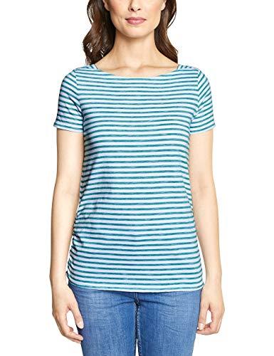 Cecil Damen 313334 Abbi T-Shirt, Amazonia Green, Medium -