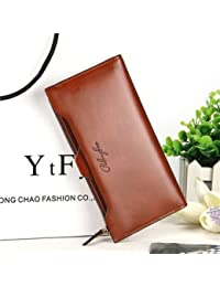 Waxy Ultrathin Detachable 11 Card Holder Women Long Purse Coin Bags 5.5'' Phone Wallet For Iphone 7P