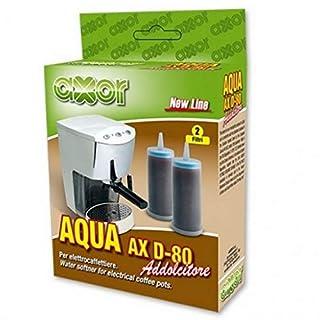 Axor Water Softener Granules Descaler Limescale Filter Pack of 6(3.33GHz EUR/Filter for ECM Isomac, Rancilio, Vibiemme, Domobar, Gaggia etc