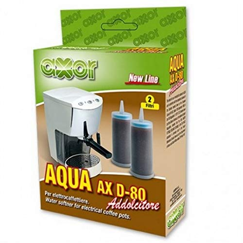 Axor Wasserenthärter Entkalker Granulat Filter 6 St. (3,33 EUR/ je Filter) für ECM,ISOMAC,VIBIEMME,RANCILIO,DOMOBAR,GAGGIA usw.