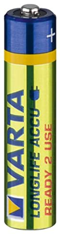 VARTA Power Micro Akku (800mAh, NiMH, 4er-Blister, 1,2V)