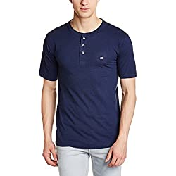 Jockey Men's Cotton T-Shirt (8901326138458_US86_X-Large_Ink Blue)
