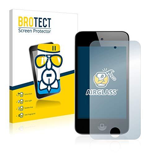 Brotect pellicola protettiva vetro compatibile con apple ipod touch (4a generazione) schermo protezione durezza 9h, anti-impronte, airglass
