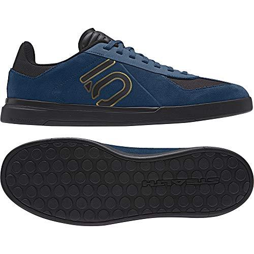 adidas Sleuth DLX Outdoor Schuhe Trainingsschuhe Herren Sportschuhe blau Gold schwarz 40 2/3 EU (7 UK)