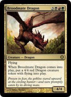 Magic: the Gathering - Broodmate Dragon - Shards of Alara - Foil by Magic: the Gathering
