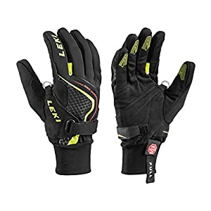 LEKI Nordic Race Shark Black-Yellow