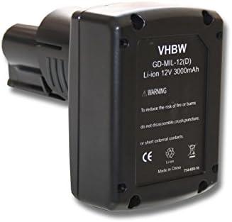 Batteria VHBW per Dispositivo AEG Milwaukee 2454-20, 2454-22, 2455-20, 2455-20, 2455-20, 2455-22, 2456-20, 2456-21, 2457-20, 2457-21, 2458-20, 2458-21, 2460-20. | Consegna veloce  | Vinci molto apprezzato  | Outlet  4d7cdc