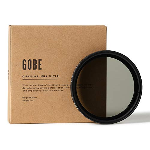 Gobe - Filtre ND Variable NDX pour Objectif 58 mm (1Peak)