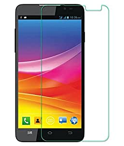 TECH SHIELD Full Screen Coverage Curved Edge Tempered Glass Screen Protector for Micromax Q324