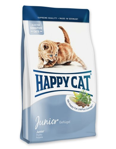 katzeninfo24.de Happy Cat Katzenfutter Fit & Well Junior 300g