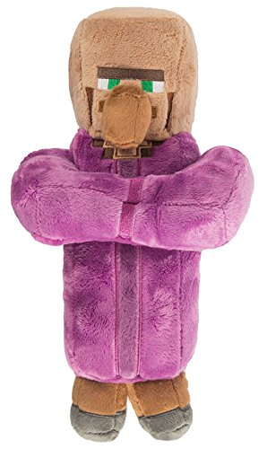 Villager Priest Plush - Purple - 30cm 12""