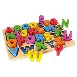 Tidlo T-0016 - ABC-Puzzle mit massiven Puzzleteilen, Spielwaren
