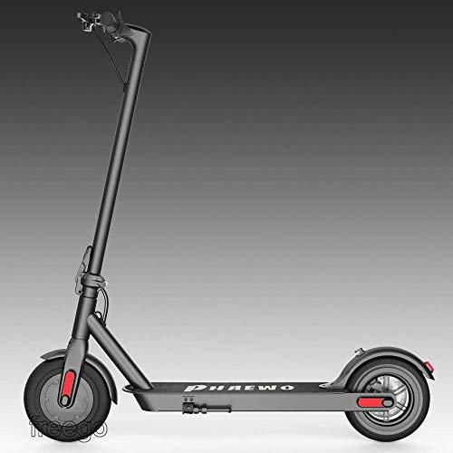 Freego 8,5-Zoll-Elektroroller, Leichter, Faltbarer Pendler-Roller für Erwachsene und Jugendliche, 250-W-Höchstgeschwindigkeit 25 km/h, Nicht luftbereifte Reifen,LED-Anzeige und Beleuchtung