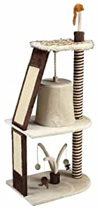 Gor Pets Cat Tree Tower Scratching Post Activity Centre - 144 cm (Brown)