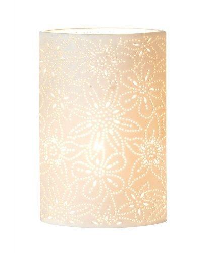 Blumen-design-tisch-lampe (Porzellanlampe