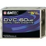 Emtec DVC 60 Min ME (5) Video сassette 60min 5pieza(s) - Cinta de audio/video (60 min, 5 pieza(s))
