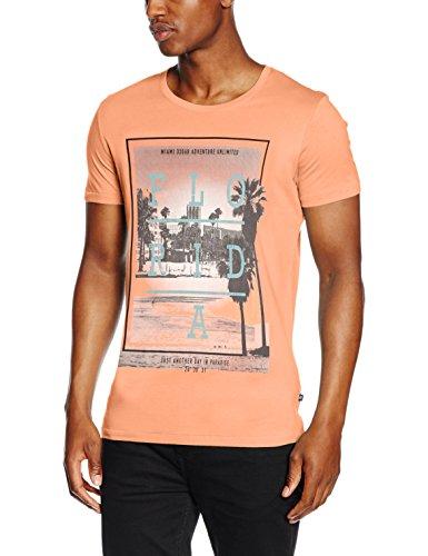 Q/S designed by - s.Oliver Herren T-Shirt 48.606.32.4297 Mehrfarbig (Mehrfarbig 21D0)