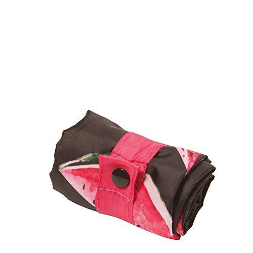 JUICY Lemons Bag: Gewicht 55 g, Größe 50 x 42 cm, Zip-Etui 11 x 11.5 cm, handle 27 cm, water resistant, made of polyester, OEKO-TEX certified, can carry up to 20 kg Watermelon