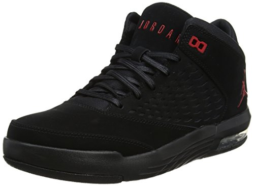 Jordan Herren Flight Origin 4 Fitnessschuhe, Schwarz (Black/Gym Red 002), 45 EU