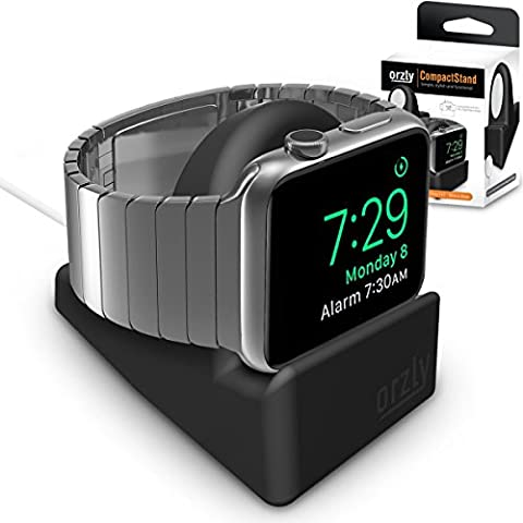 Orzly® Night-Stand pour Apple Watch NOIR - Station de Charge