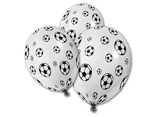 5 Globos pelotas de fútbol