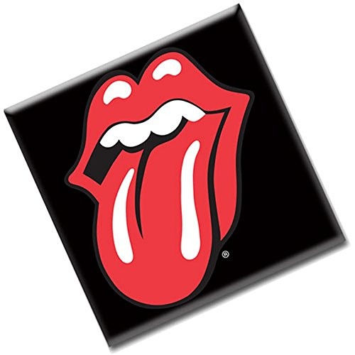 The Rolling Stones - Metall Magnet - Logo