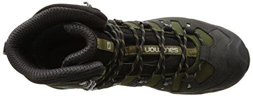 Salomon Quest 4d 2 GTX, Chaussures de Randonnée Hautes Homme Vert (Iguana Green/asphalt/dark Titanium)