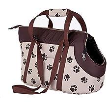 Hobbydog - Bolsa de Transporte para Perros y Gatos, tamaño 1, Color Beige con