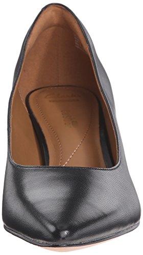 Pompa Clarks Crewso Wick Dress Black Leather