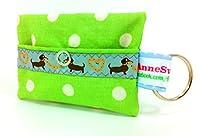 kackb eutel Distributeur de Sacs à déjections canines pour chien sachet Friandises Sacoche en toile cirée Promenades Waste cadeau propriétaire de chien dunette Bag