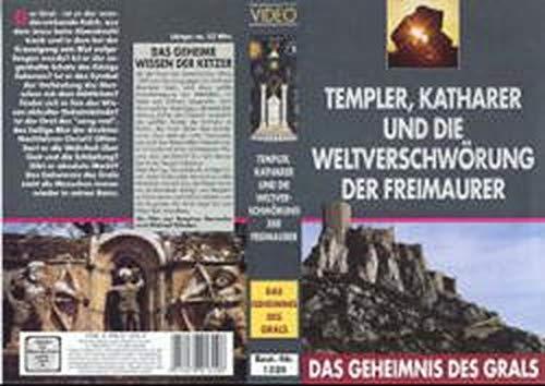 Das Geheimnis des Grals - Paket / Templer, Katharer und die Weltverschwörung der Freimaurer