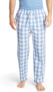 Nautica Men's Soft Woven 100% Cotton Elastic Waistband Sleep Pajama