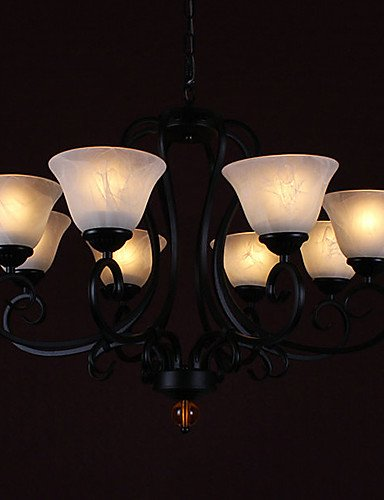 XXTT- 60W * 8 Moderna Contemporanea 8 Light Up Illuminazione Lampadario , 220-240v