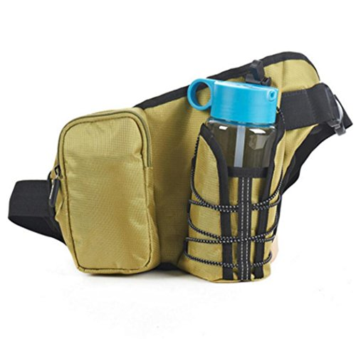 OOFWY Running Waistpack, Sport Wasserkocher Tasche Tasche für Handytaschen Waistpacks Draußen Wasserflasche Tasche für Fitness Radfahren Wandern Wandern Männer und Frauen A