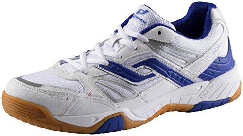Ind-Schuh Rebel M - weiß/blau weiß/blau