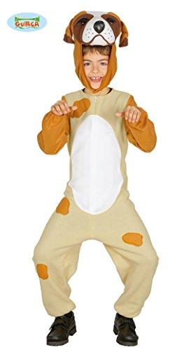 inder Tierkostüm Tier Tierkostüm braun Hund Bauernhof Gr. 98-134, Größe:98/104 (Hund Halloween Kostüme Für Kinder)