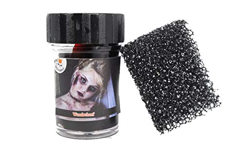 KING OF HALLOWEEN.DE-Wundschorf-Krustenblut-15ml-Zombie-VAMPIR-Kunstblut-Halloween-Karneval-Fasnacht-Hallowen Schminke-Halloween Make up-Zombie Make up-Blut (Make Up Halloween)