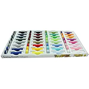 64 Piece 100% Polyester Sewing Thread Set