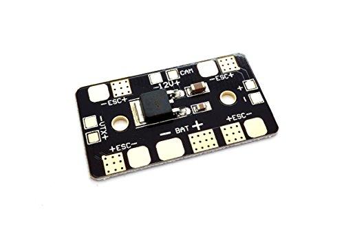 Matek Mini PDB Stromverteiler Board mit 12V Linear Voltage Regulator -