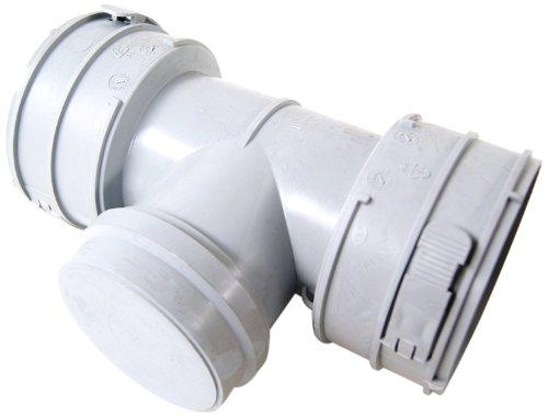 Vaillant 303511 Set 2 - flex, Abgassystem 80 mm Revisionselement (PP)